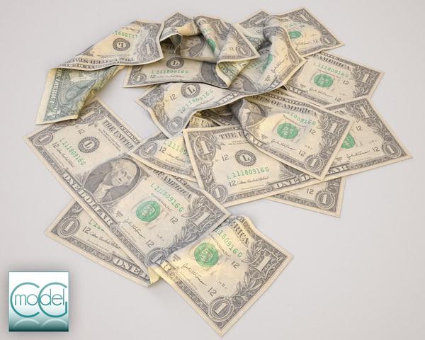 dollars c4d