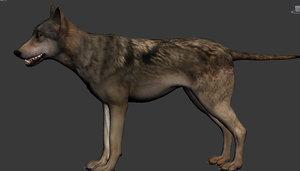 wolf fbx