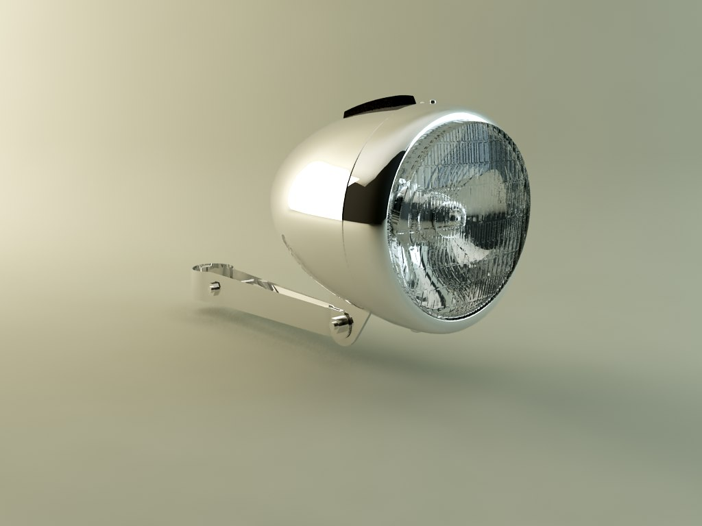 retro bicycle lamp max
