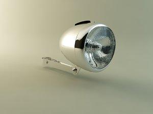 retro bicycle lamp max
