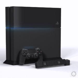 3d model gaming sony playstation 4