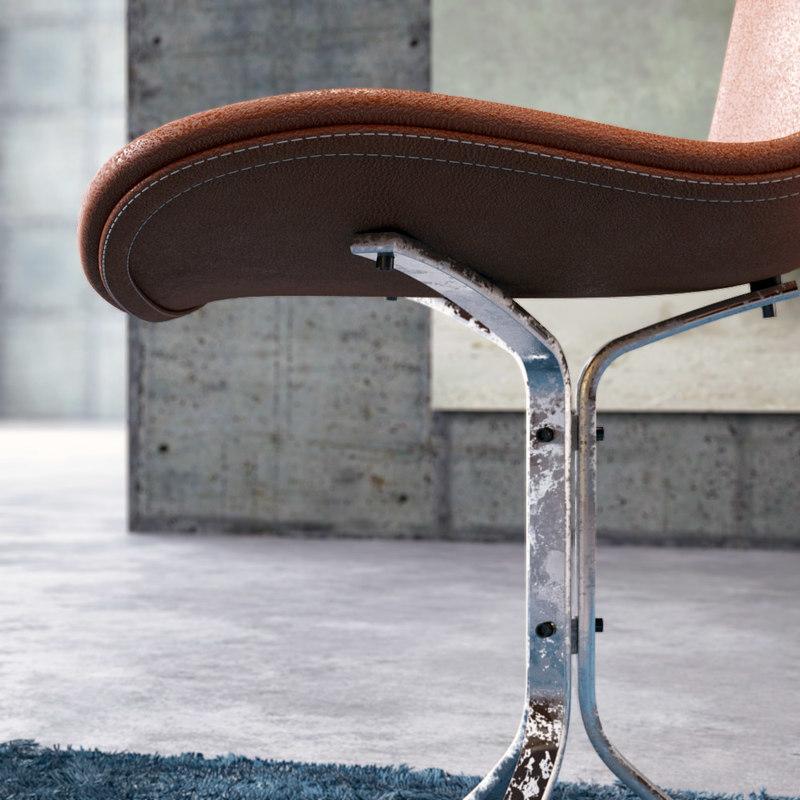 pk9 chair 3d max