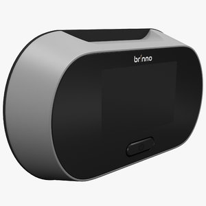 3d electronic peephole viewer brinno