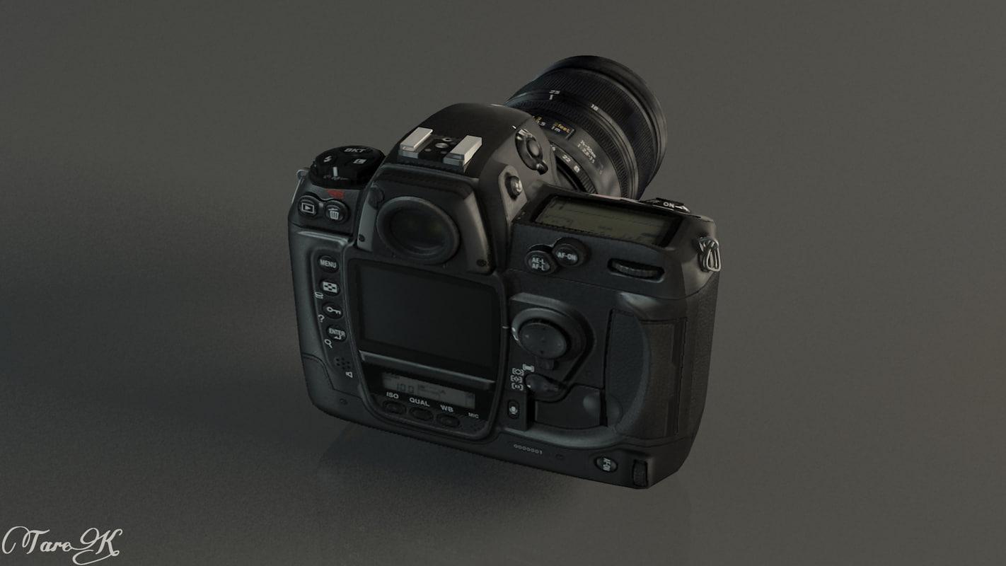 3d model nikon camera