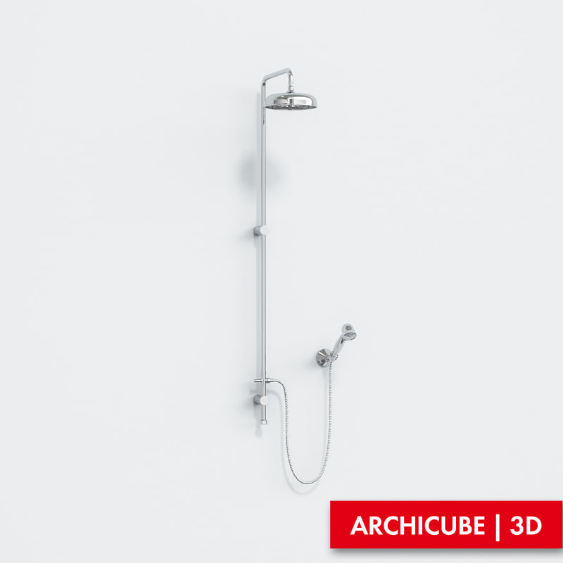 mixer shower 3d model