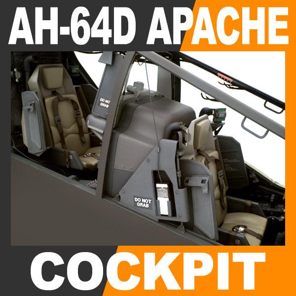 3d boeing ah-64d apache longbow model