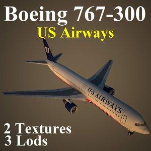 max boeing 767-300 usa