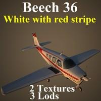 beech 36 wre aircraft max