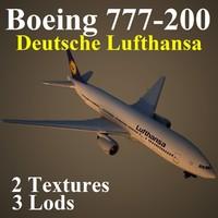 boeing 777-200 dlh max