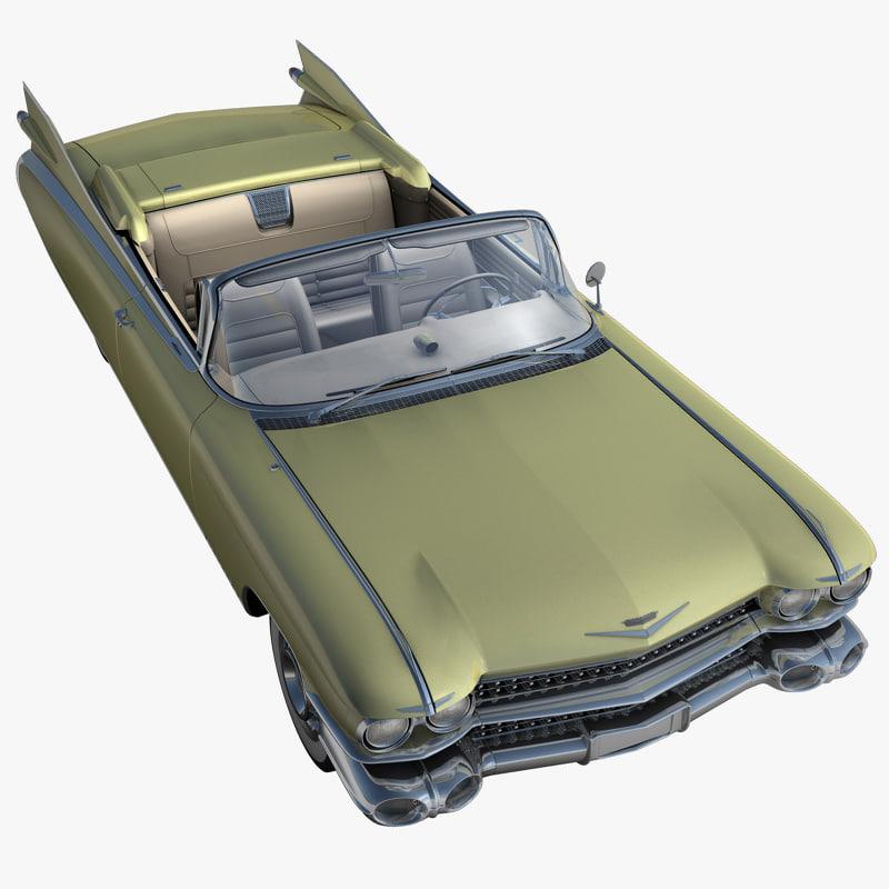 cadillac eldorado 62 series 3d model