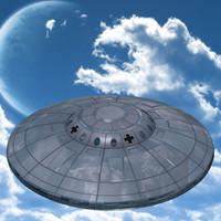 nazi ufo 3d model