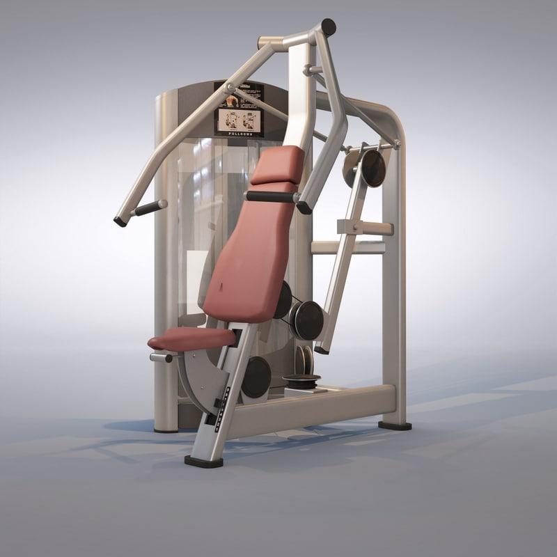 pull machine 3d model