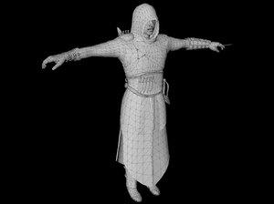 assassin creed brotherhood s 3d model