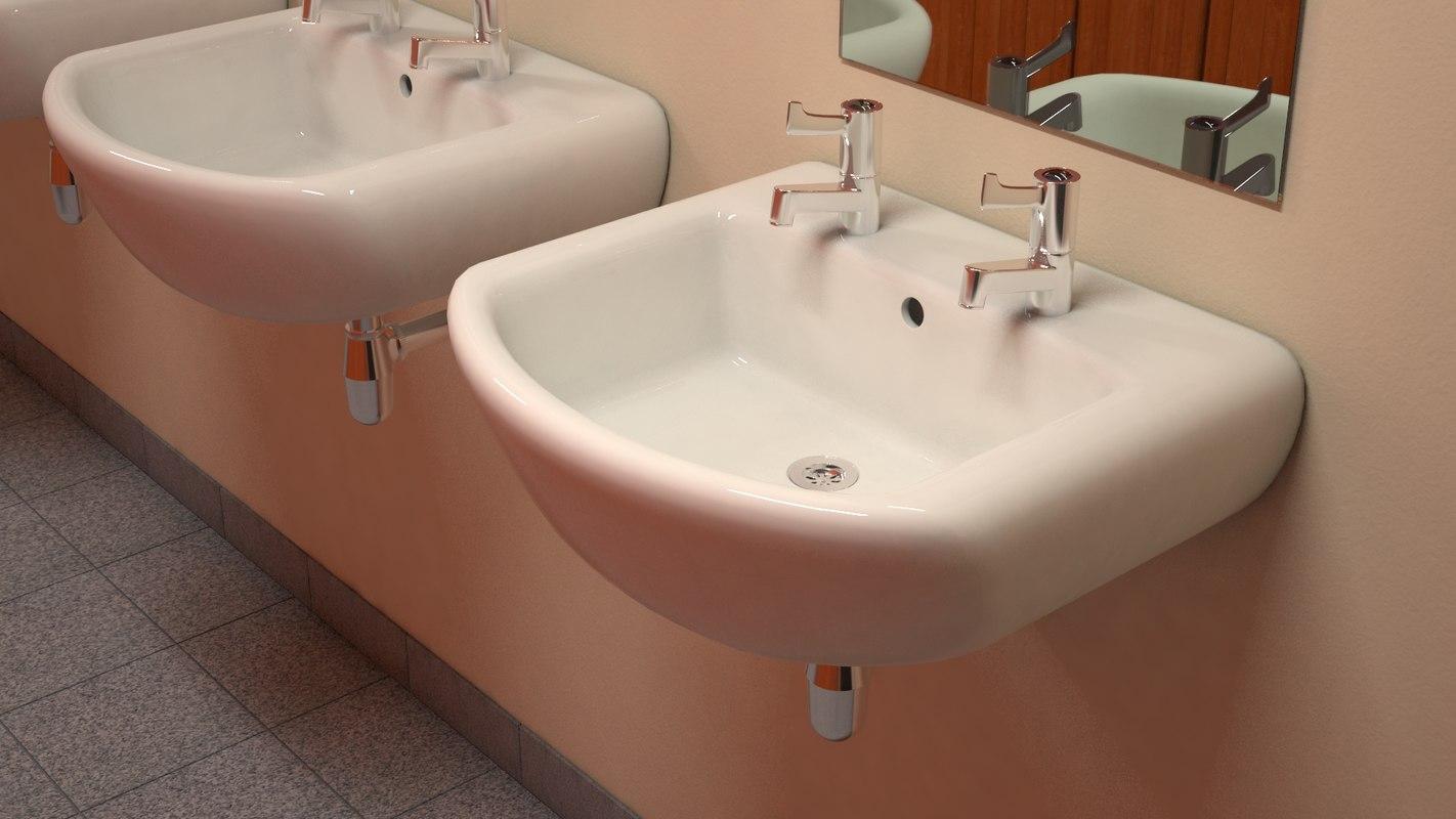 3dsmax hand basin