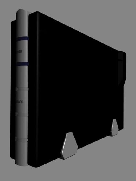 3d model external hard drive