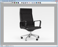Chair de sede ds1005 3D model