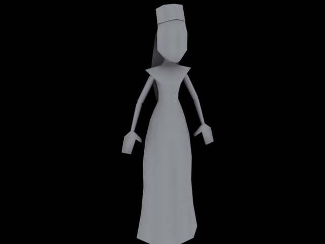 3d model of catrina games ds