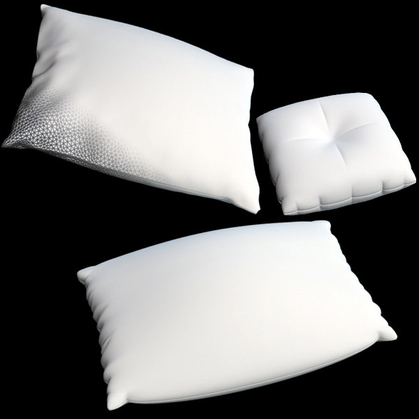 pillows 3d model