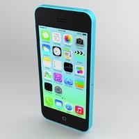 iphone 5c apple 3d model