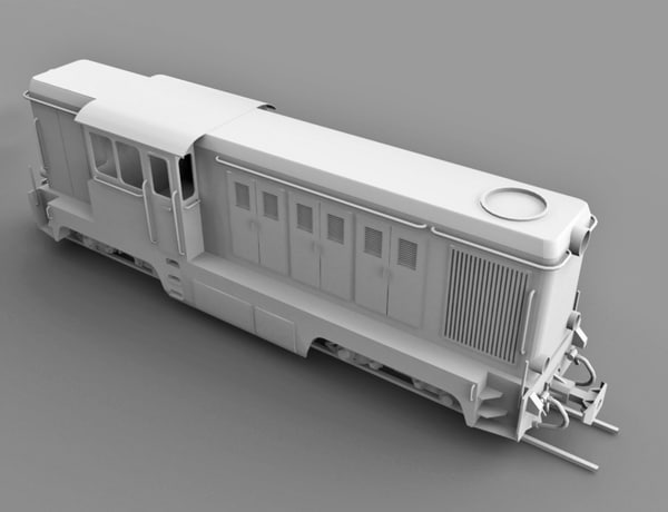 narrow diesel locomotive max free