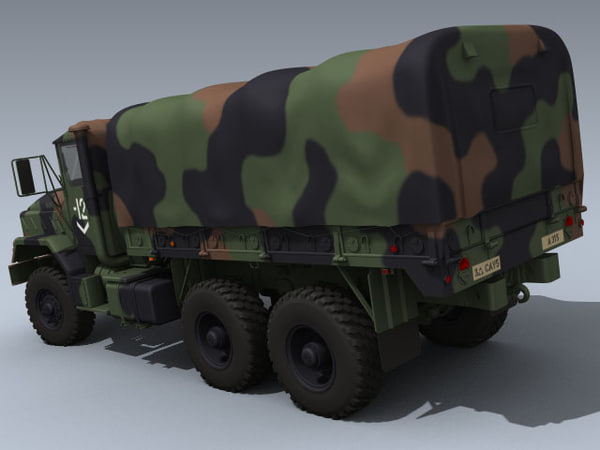3d max army m923a1