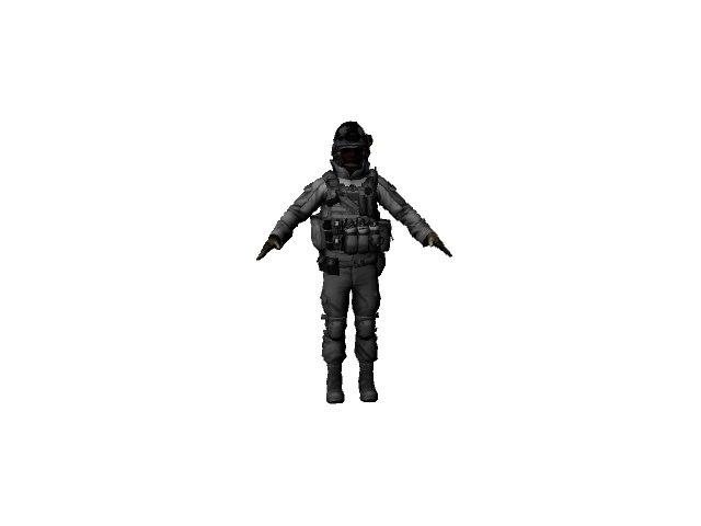 free bf3 medic 3d model