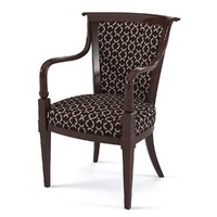 selva 1530 dining chair 3ds