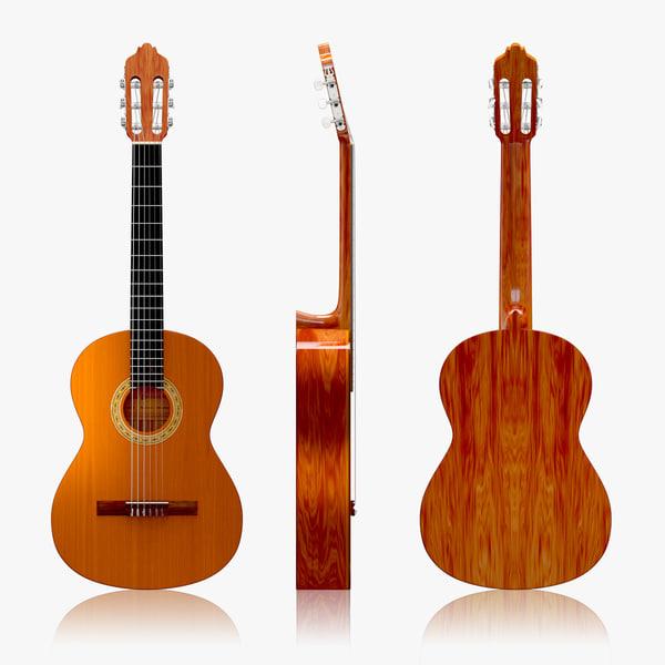 3d max classic guitar