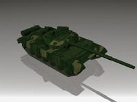 t-72 battle tank 3d model