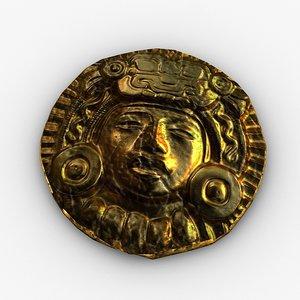 ancient gold 3d model