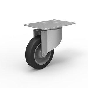 caster wheel 3d x