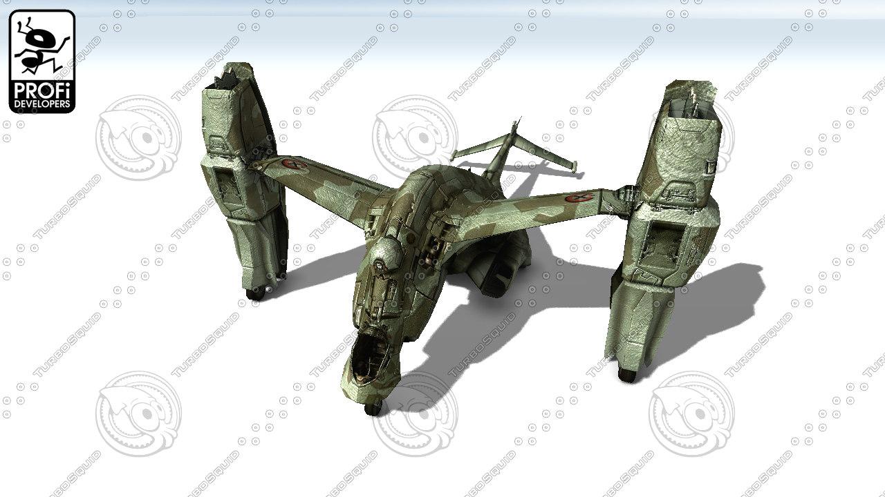 3d model airplane vehicle