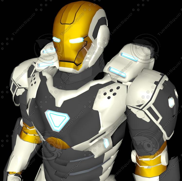 ironman mark 39 gemini space 3d model