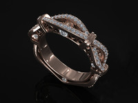 diamond ring 3d obj