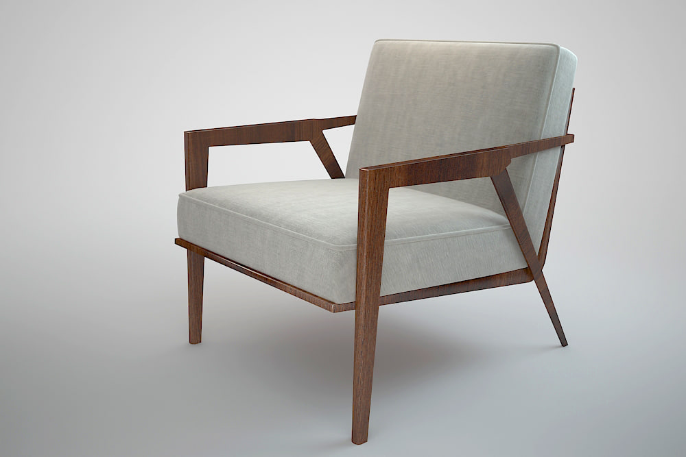 odense chair 3d max