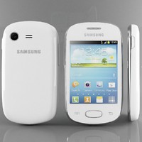 samsung galaxy star white 3d max