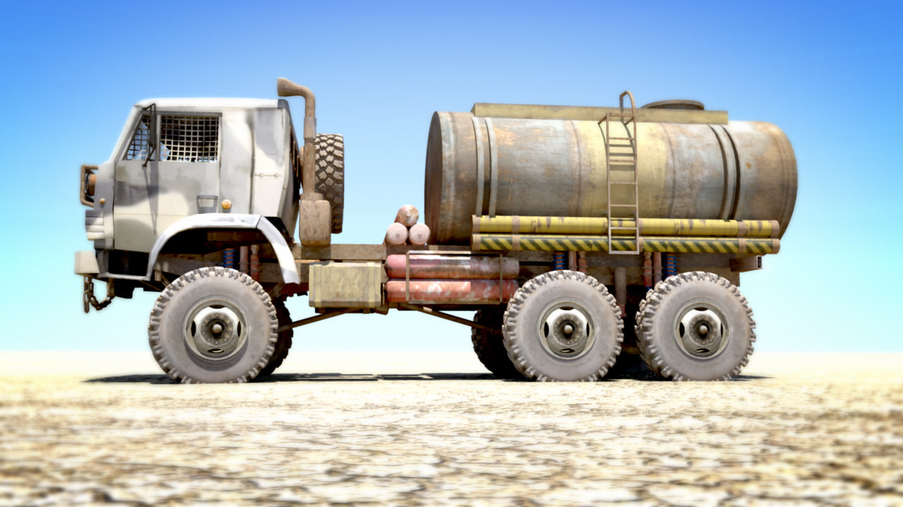 russian kamaz tanker truck ma