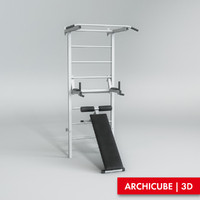 exercise machine 3d max