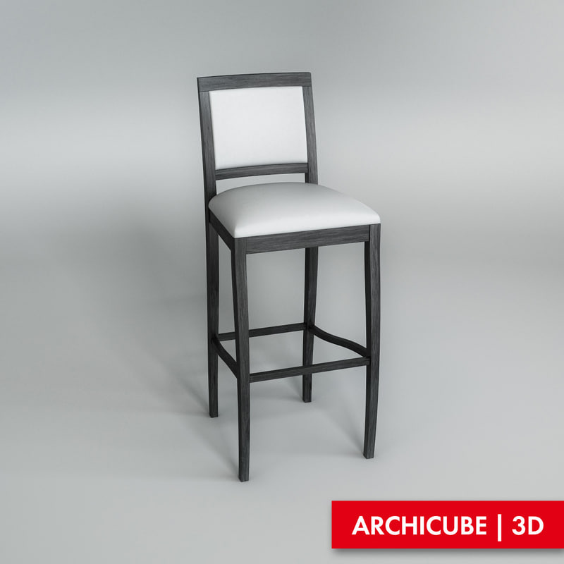 3ds max stool