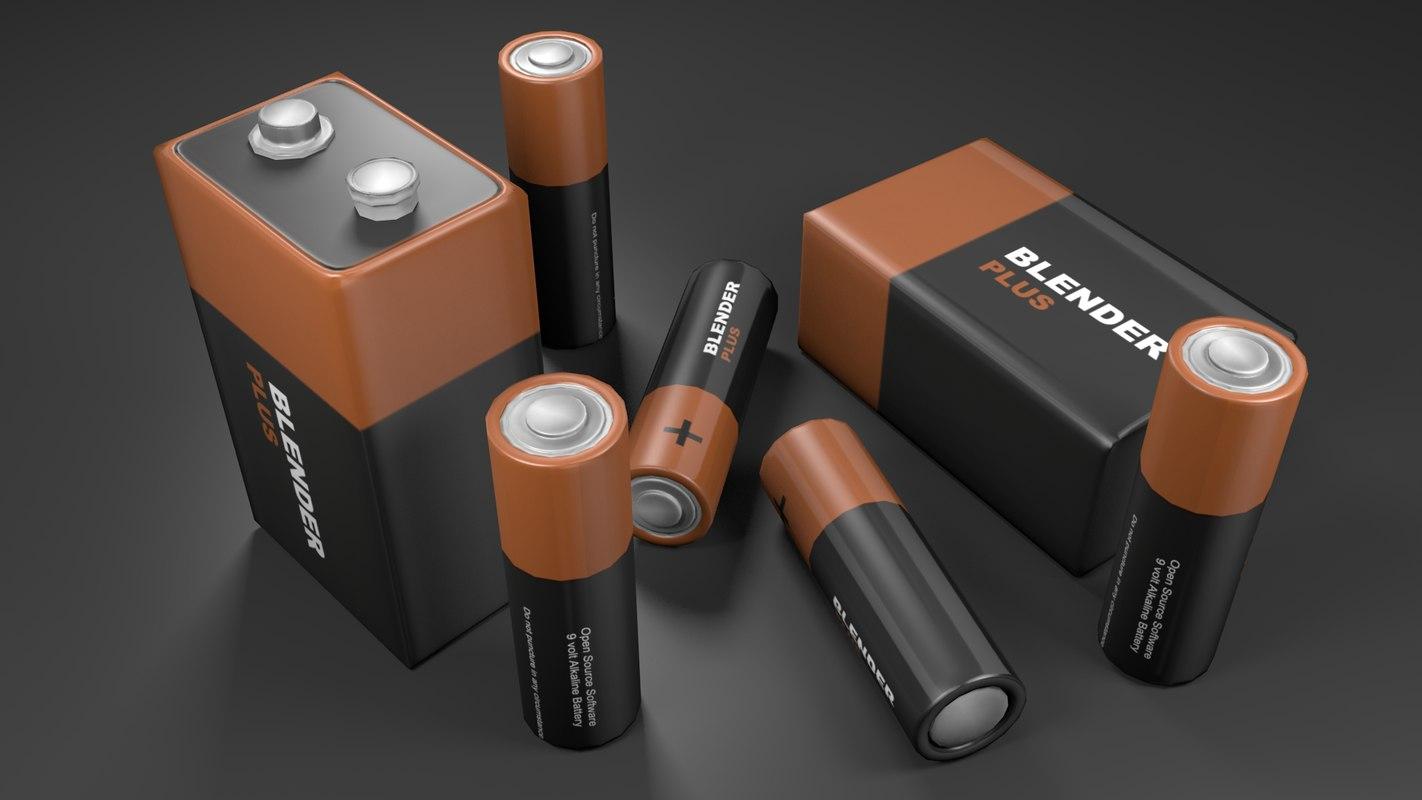 blender batteries 3ds free