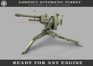 max automatic turret