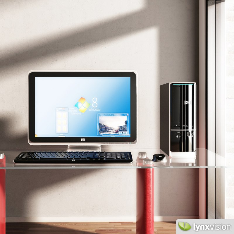 max pavilion slimline desktop computer