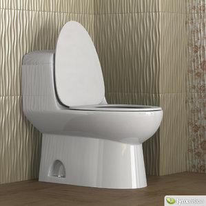 3ds max toilet architec