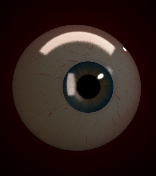 3ds max eye
