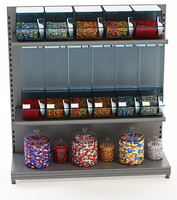 Candy display retail store