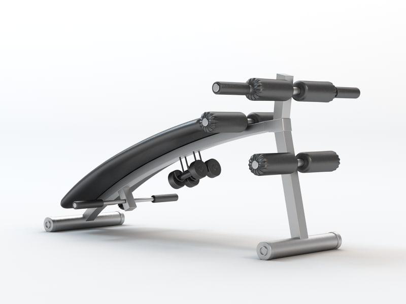 3d gym instrument model