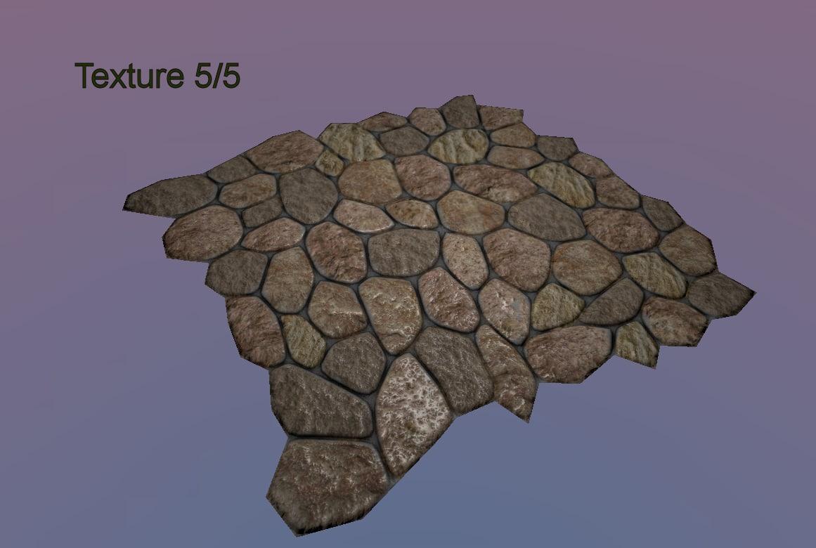 medieval stone floor tileable x