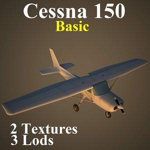 3d cessna 150 basic