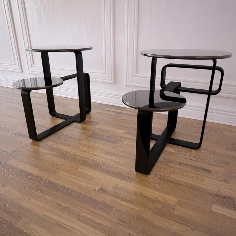 columbus table fendi 3ds