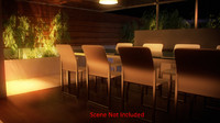 3ds max contemporary table
